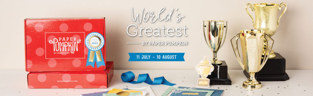 August World's Greatest Paper Pumpkin Kit