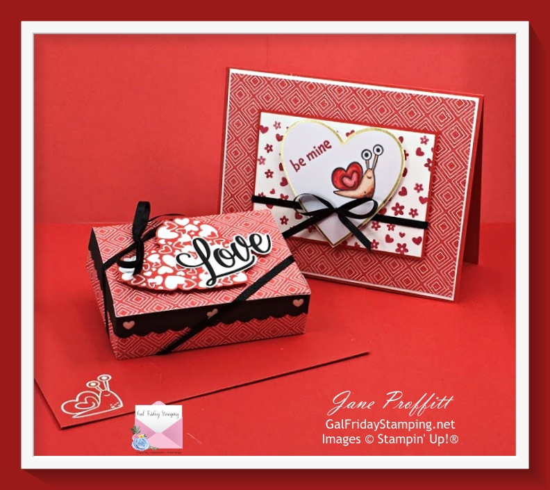 Gal Friday Stamping created alternate projects with the January Paper Pumpkin kit.