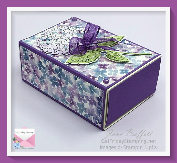 Hydrangea Hill Gift Box Using Love You Always Treat Box