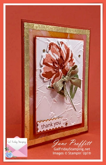 Fine Art Floral Suite by Stampin' Up! will bring out the artist in you.
