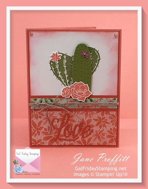 Flowering Cactus Product Medley from Stampin' Up!