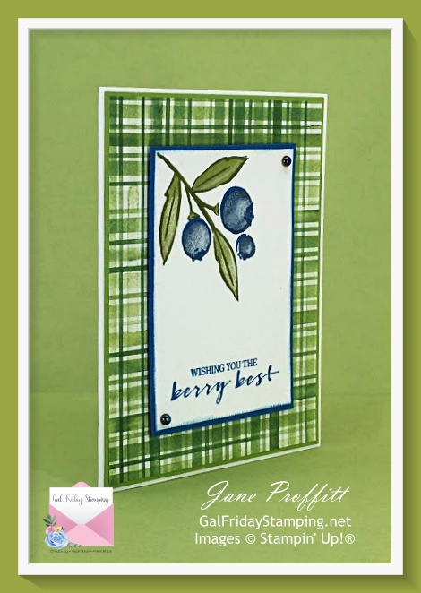 Berry Blessings stamp set and designer series paper free during Sale-A-Bration