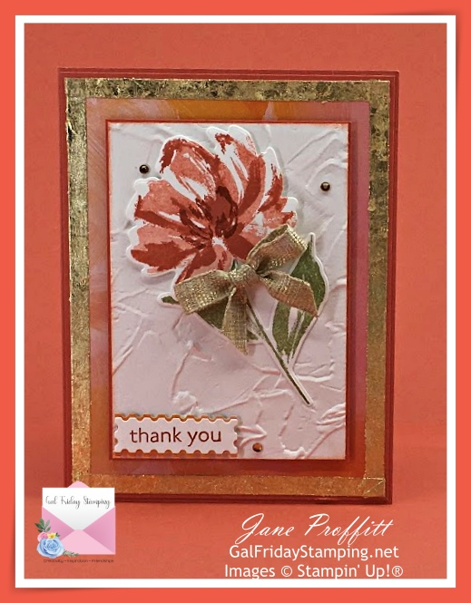 Fine Art Floral Suite by Stampin' Up!  Bold and beautiful cards