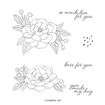 There is So Much Love Stamp Set
