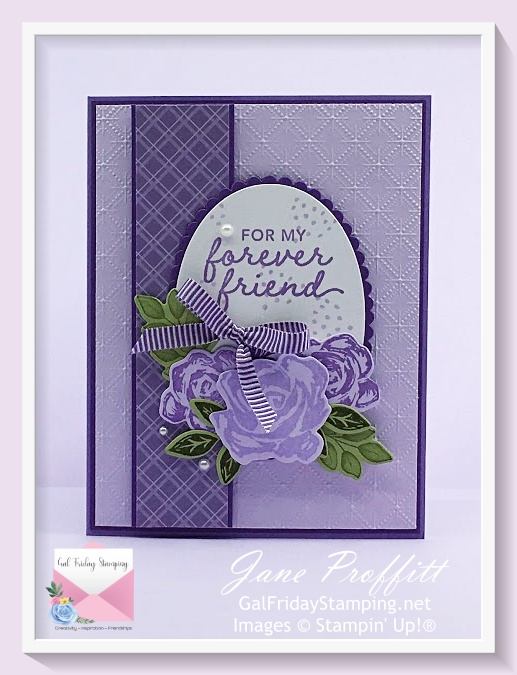 This weeks showcase features retiring In-Colors and the Brushed Blooms stamp bundle.