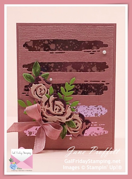 Retiring In-Color Rococo Rose with Brushed Blooms