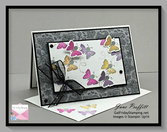 Fluttering by to say hi with the Hippo Happiness bundle from Stampin' Up!