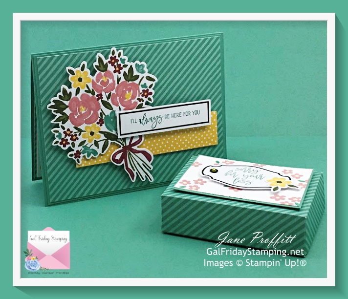 A lovely gift set created with the February Paper Pumpkin Monthly kit subscription.