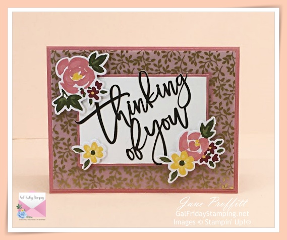 Card created with the February Paper Pumpkin kit.