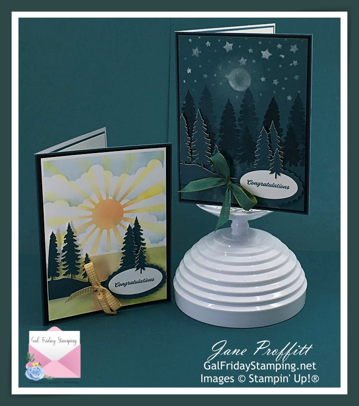 Night turns to day with March Paper Pumpkin kit.