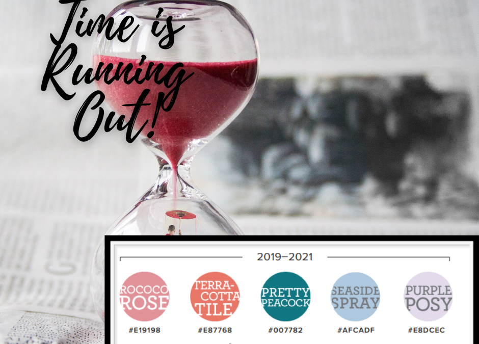 Stampin' Up! 2019-2021 Retiring In-Colors!