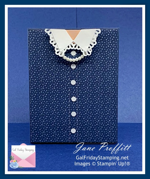 Using the Well Suited Suite to create a perfect card for Mother's Day.