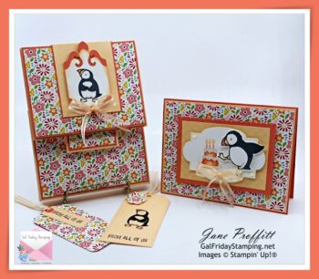 Thursday Night Live with the Party Puffins Stamp Set