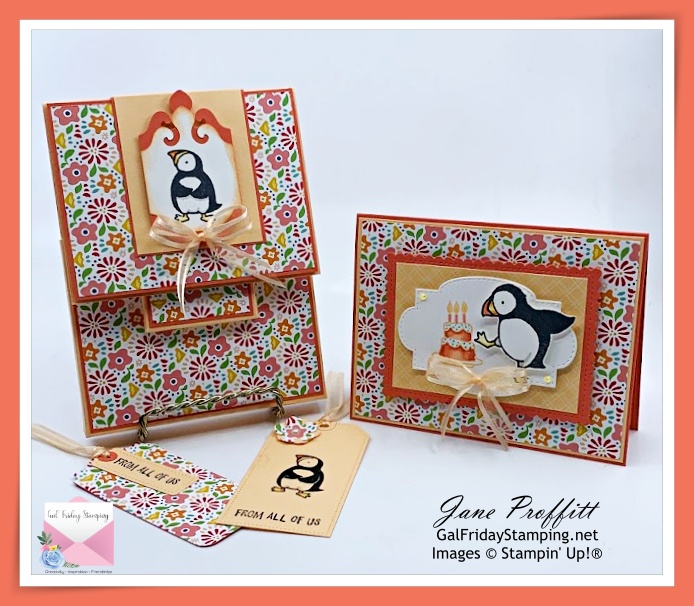 Thursday Night Live with the Party Puffins stamp set.