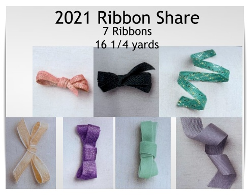 Newly released ribbon in the 2021-2022 Annual catalog.  Receive 16 1/4 yards total from 7 different ribbons.