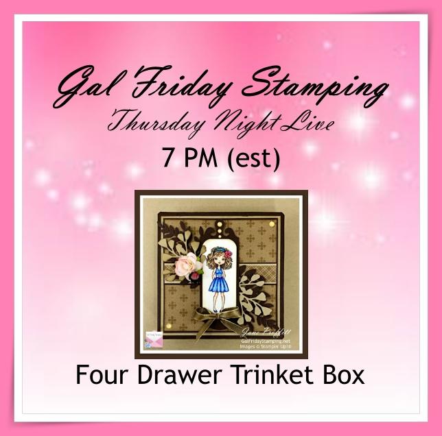 Four Drawer Trinket Box Thursday Live