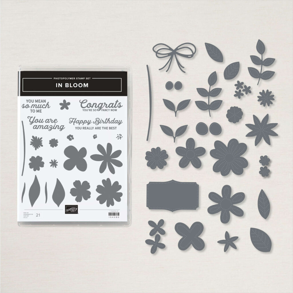 In Bloom Bundle from Stampin' Up!  Item #156208 was used in creating today's Back in the craft room