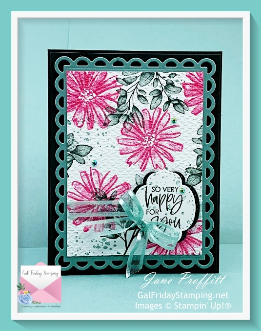 Beautifully artistic stamp set brings out the artist in everyone.  So let's play with a new stamp set called Color & Contour  bundle.