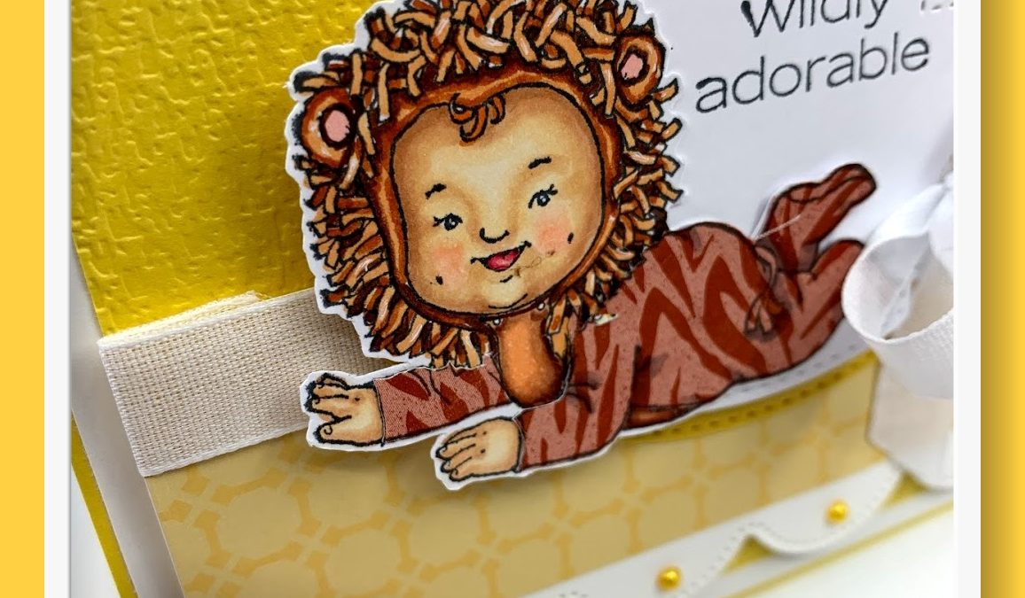 Wildly Adorable Stamp Set and Baby