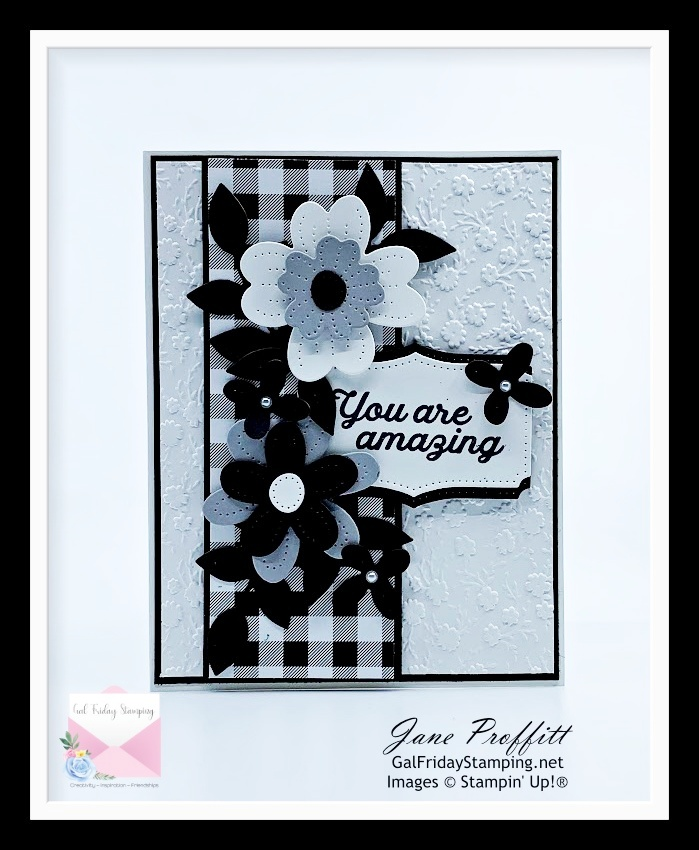Beauty on a cloudy day using the In Bloom bundle from Stampin' Up!
