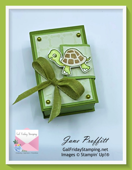 Hersey nugget treat box created using the Turtle Friends Bundle live tonight.