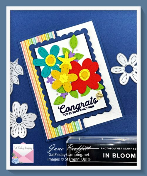 In Bloom Rainbow after the Storm Card