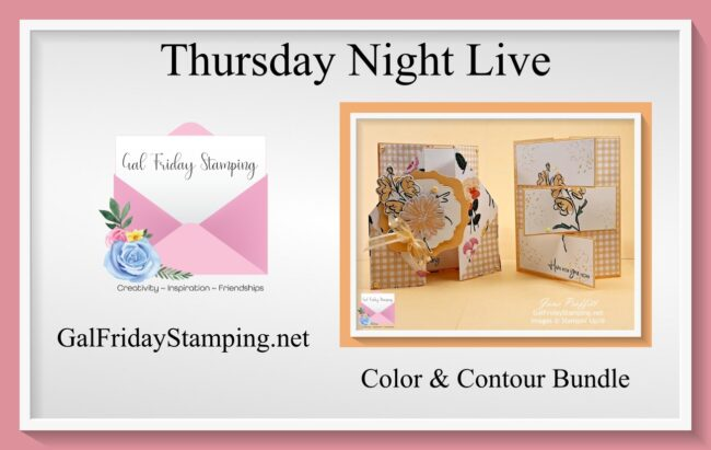 Fun Fold Cards for Thursday Night Live