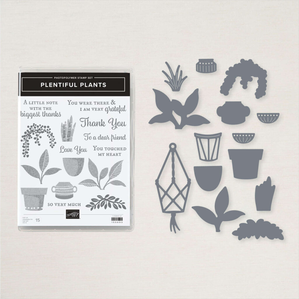 Plentiful Plants bundle used for There is Beauty in Nature Card