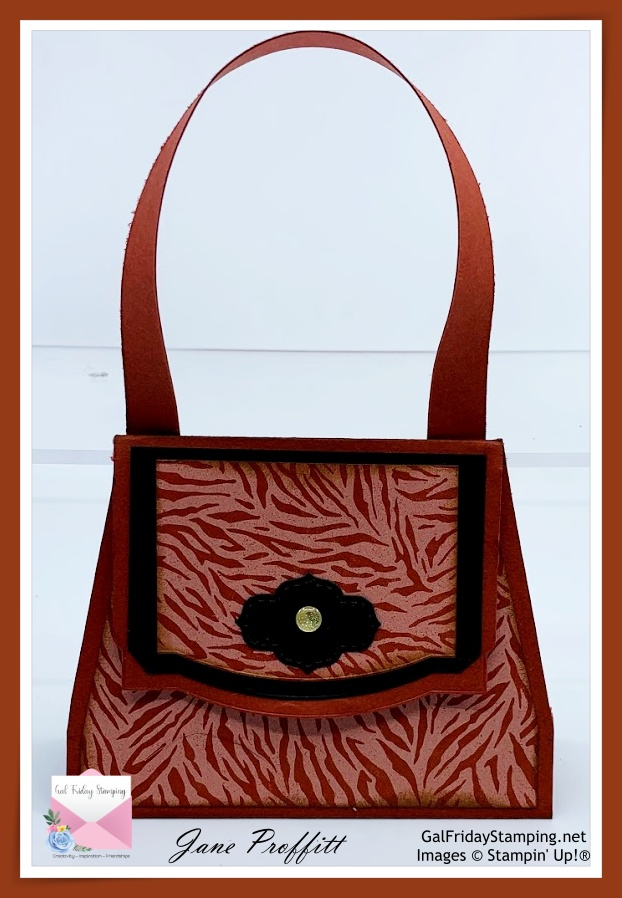 Wild gift card purse that was created using the designer series paper from the In the Wild Suite.