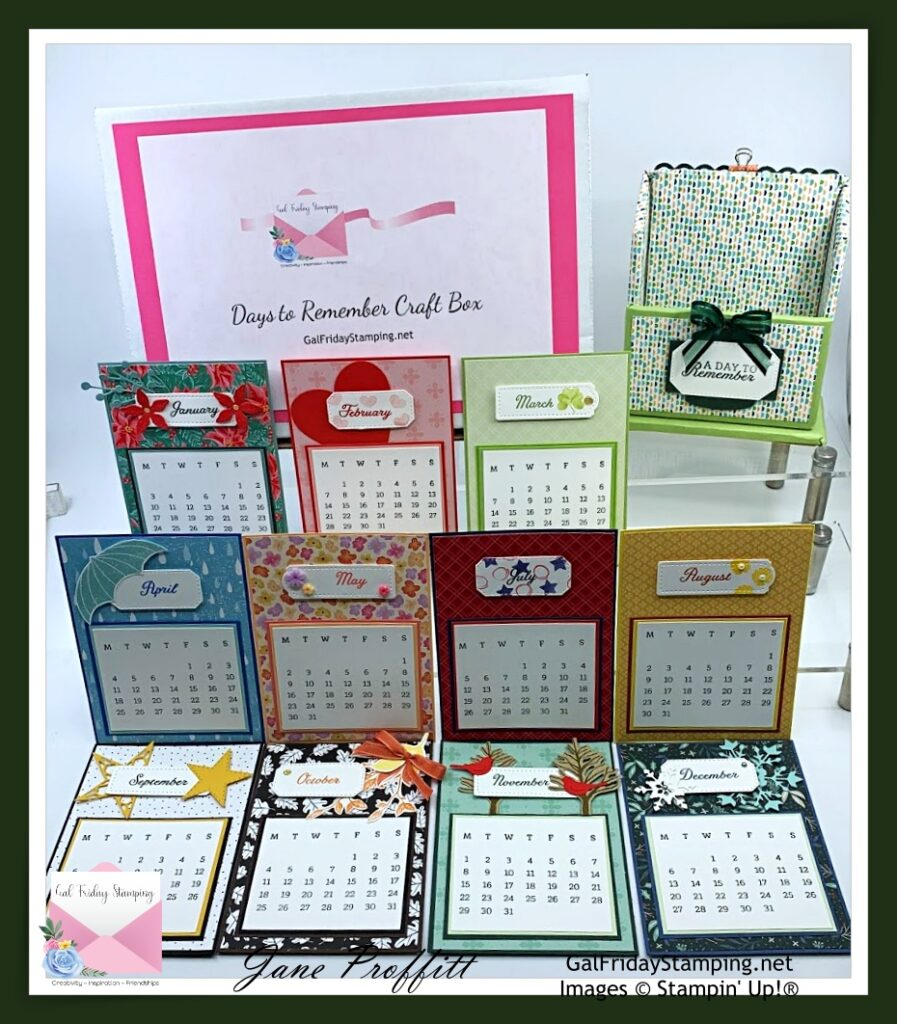 Today, let's wrap up the Days to Remember in a fabulous Craft Box.