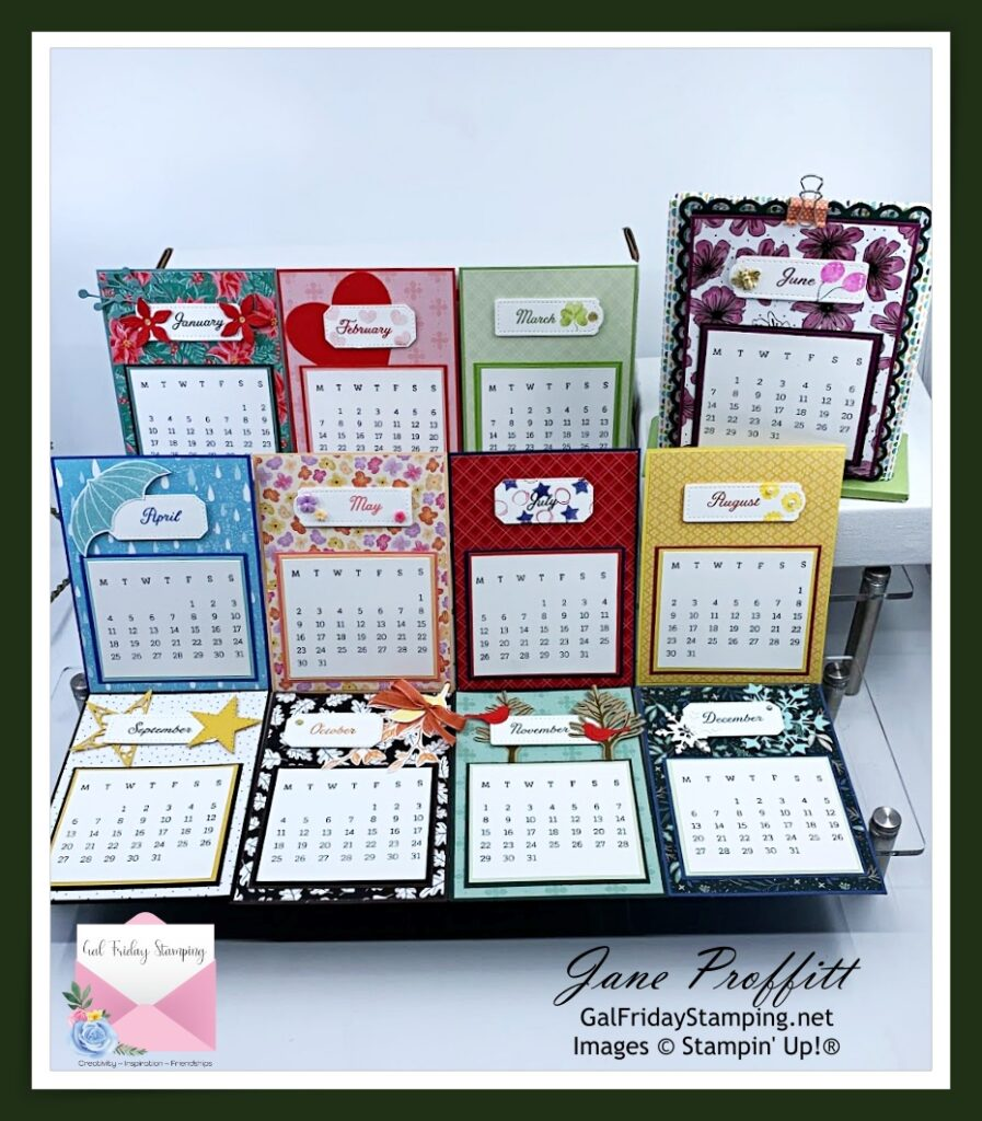 A year of amazing calendars and a caddy wrap up the Days to Remember craft box.  Registration is open till June 10th.