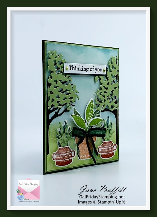 There is beauty in nature and the products from Stampin' Up! allows you to show that beauty.