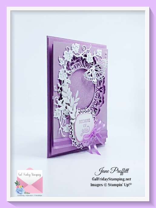 Simple stamping and elegant die cuts using many different bundles.