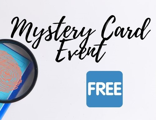 Saturday's Mystery Card Event with Hand-Penned