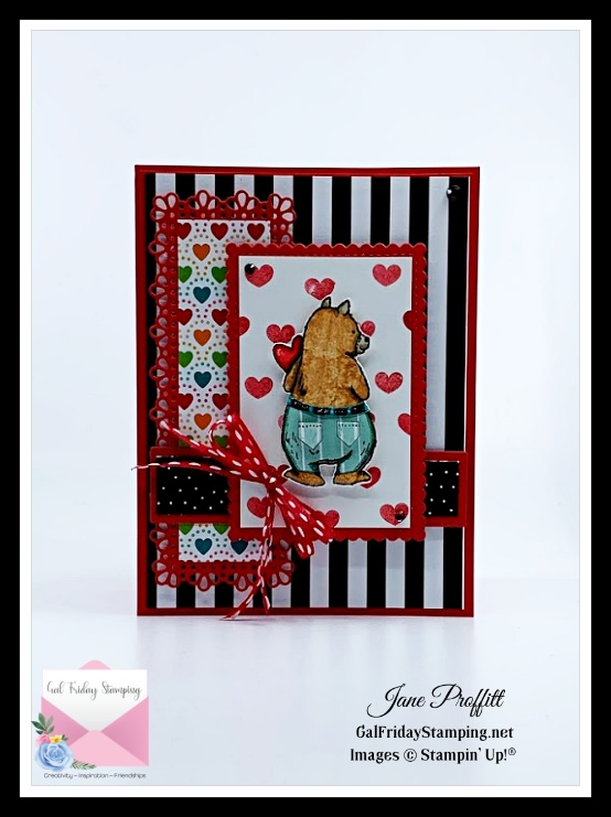 lots of patterns for this cute little bear from the Count on Me Stamp set