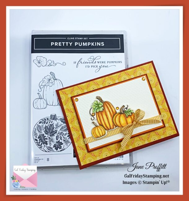 New Pretty Pumpkins Stamp Set Aug. 3rd, 2021