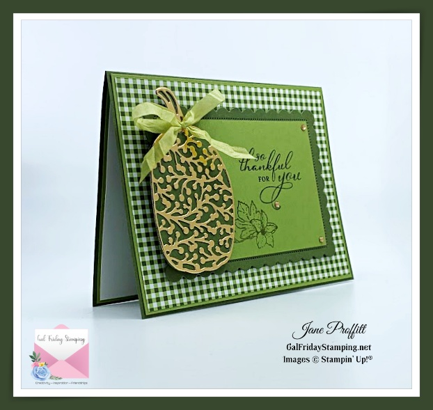 Green with Envy Autumn Card