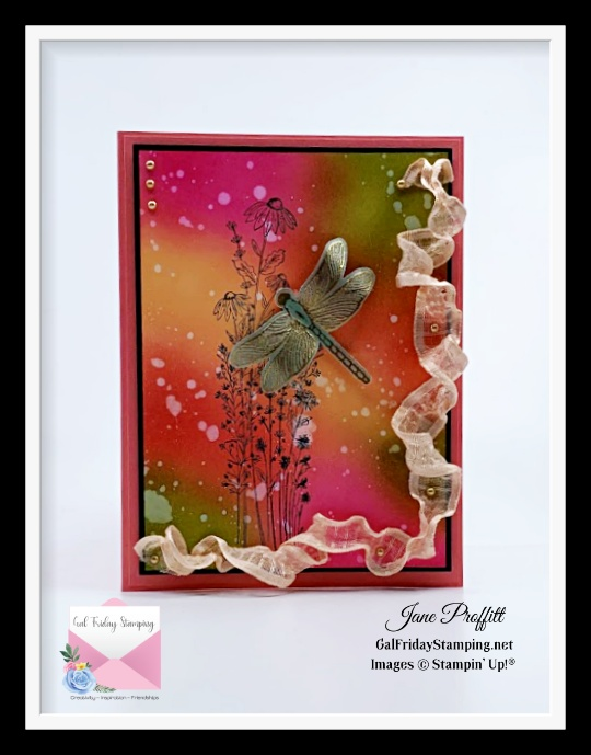 Rich colors and the beauty of the Dragonfly Garden bundle shows the world is full of possibilities.