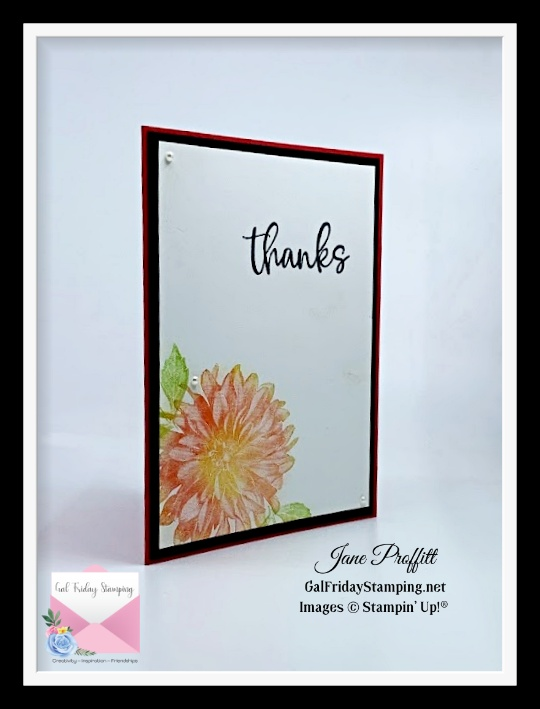 Get this beautiful floral stamp set free with every $50 purchase with the 2021 Mini Catalog release.