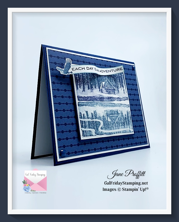 Reflected in Nature stamp set from Stampin' Up!