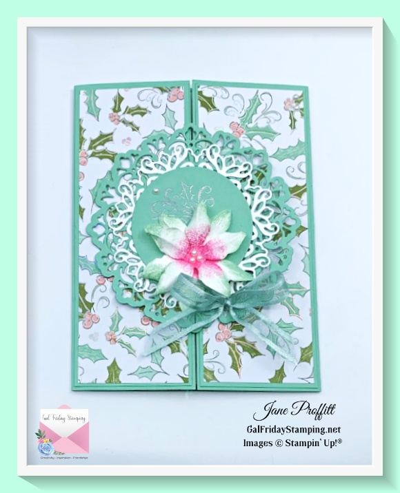 Here is a gatefold card for the Whimsy & Wonder Gift set.
