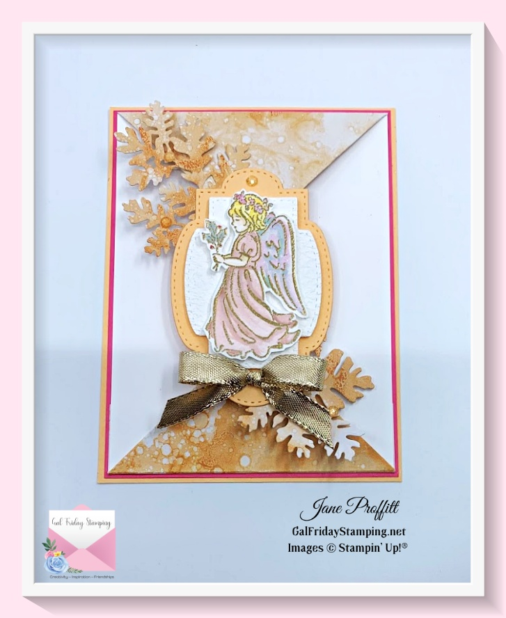 The second image used for my Angels of Peace live card is just lovely.