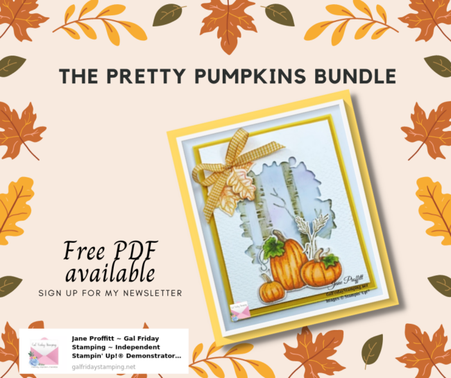 It is a Fabulous Friday with the Pretty Pumpkins Bundle
