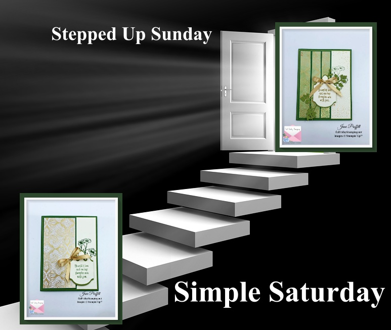 Simple Saturday to Stepped Up Sunday