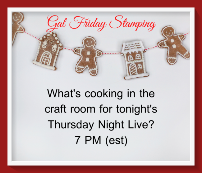 What's Cooking Tonight in the Craft Room