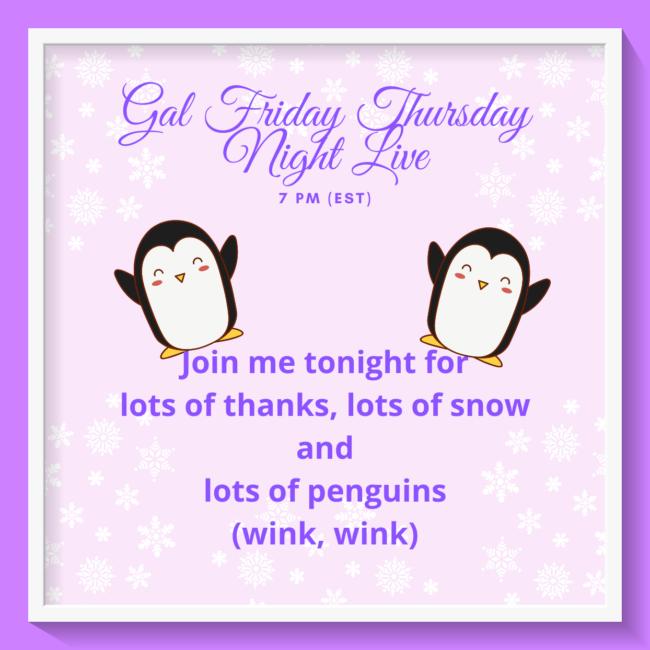 Penguin Place Thursday Night