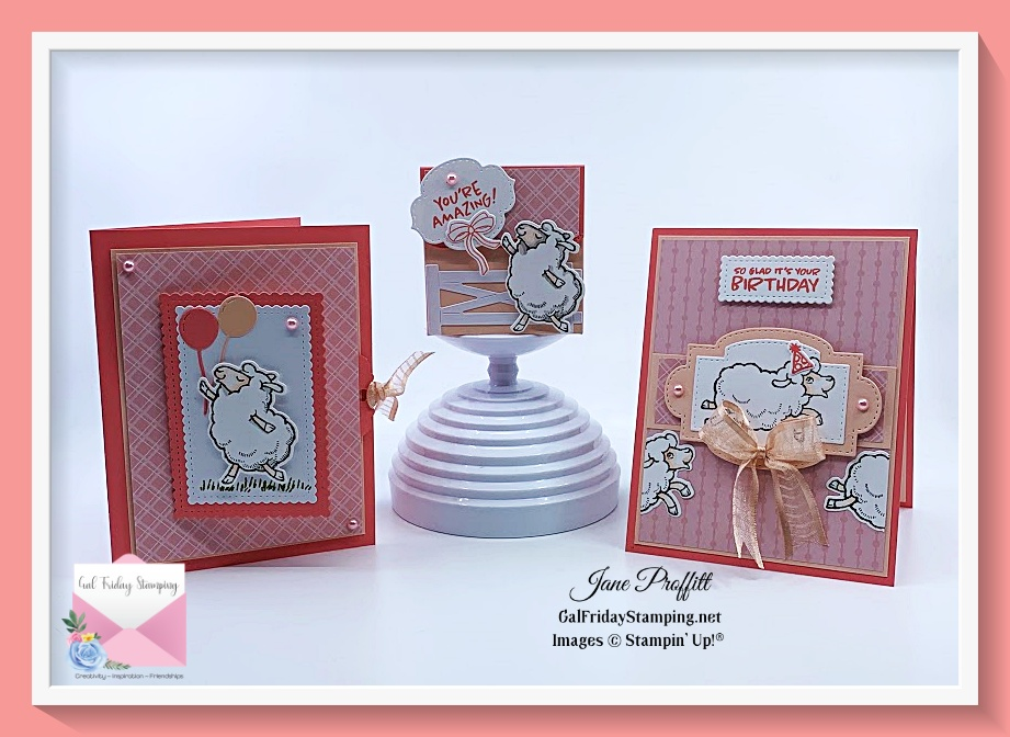 Thursday Night Live with the Counting Sheep & Matching Dies. Free during Sale-a-Bration with $100 order.