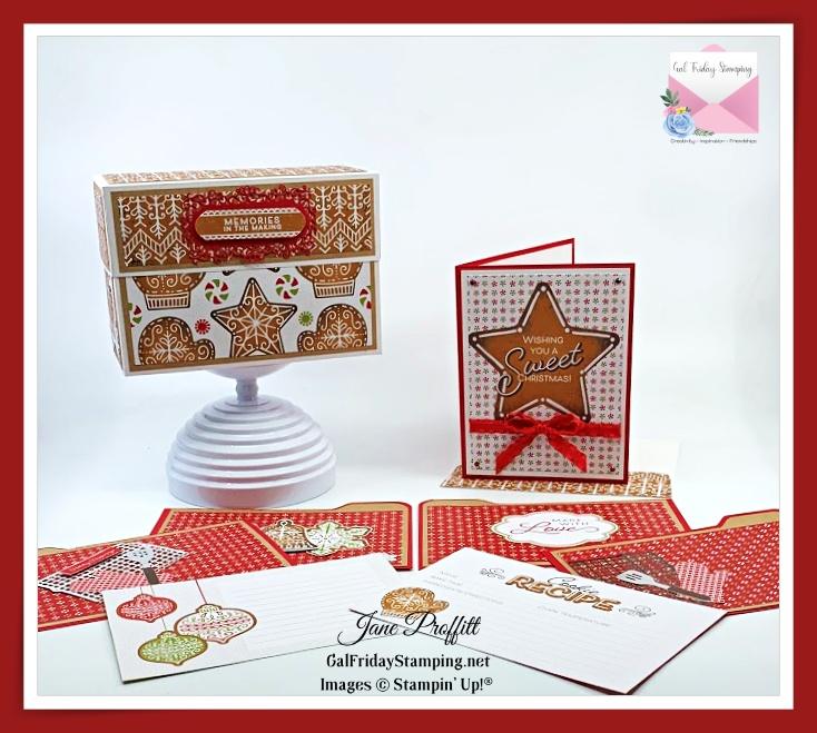 Gingerbread & Peppermint Craft Box