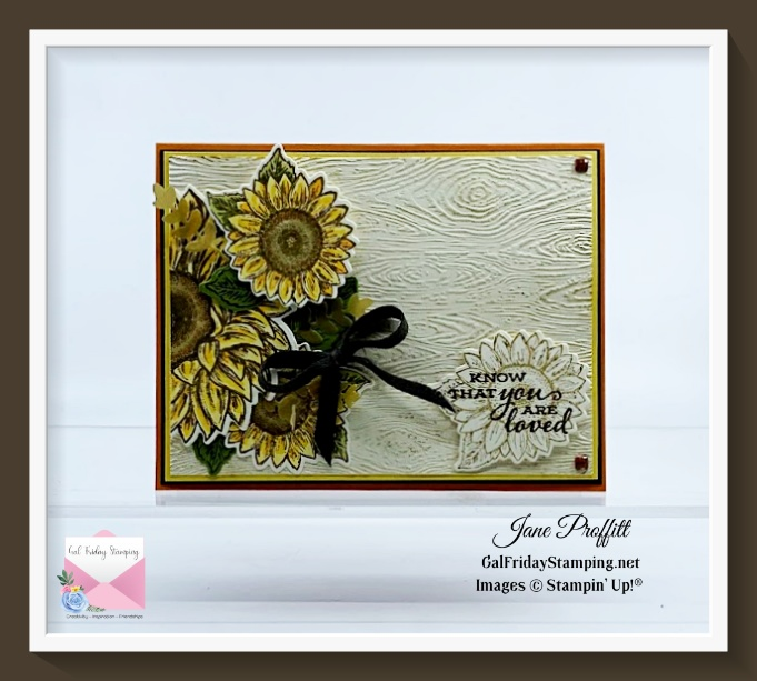 You too can create this card using the Celebrate Sunflowers by signing up for my newsletter.
