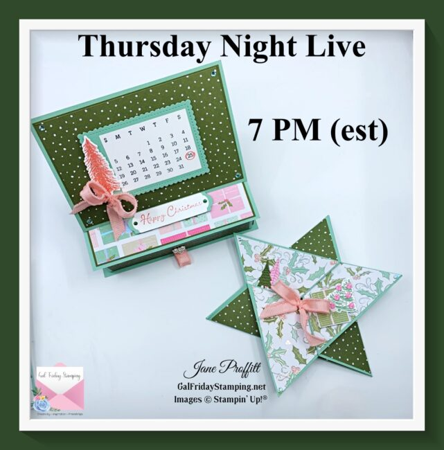 Whimsy & Wonder Thursday Night Live